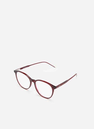 Mắt kính ROU 0039 - Màu Đỏ