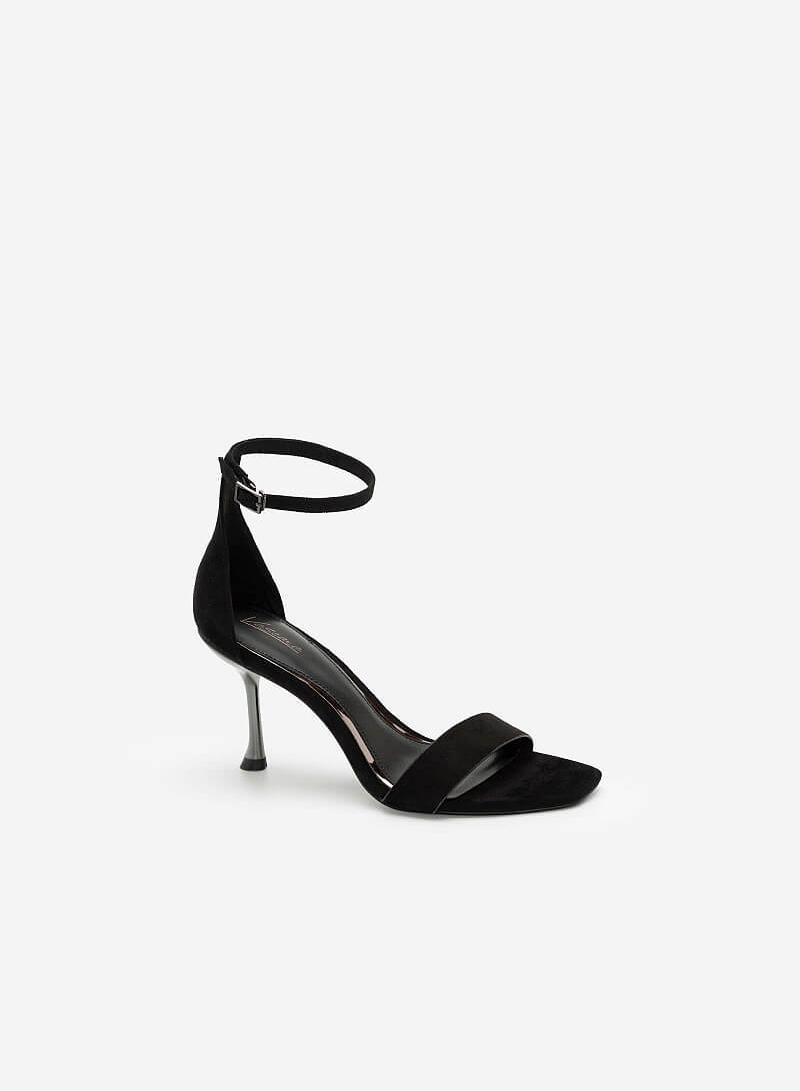 Giày Ankle Strap Quai Ngang - SDN 0672 - Màu Đen - VASCARA