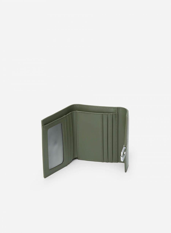 Ví Cầm Tay Mini Khóa Hình Học - WAL 0218 - Màu Xanh Bạc Hà - vascara.com
