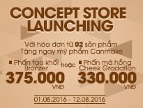 Vascara Cống Quỳnh - Concept Store Launching - Tặng mỹ phẩm Canmake cho hóa đơn từ 02 sản phẩm