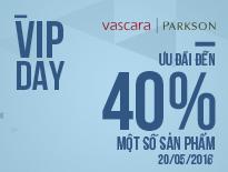 Vascara Parkson Hùng Vương - VIP DAY - Ưu đãi đến 40% một số sản phẩm
