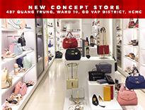 Trải nghiệm đẳng cấp thời trang cùng chuỗi cửa hàng New Concept Store