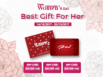 Gift Cards 20/10 – Happy Vietnamese Women's day - vascara.com