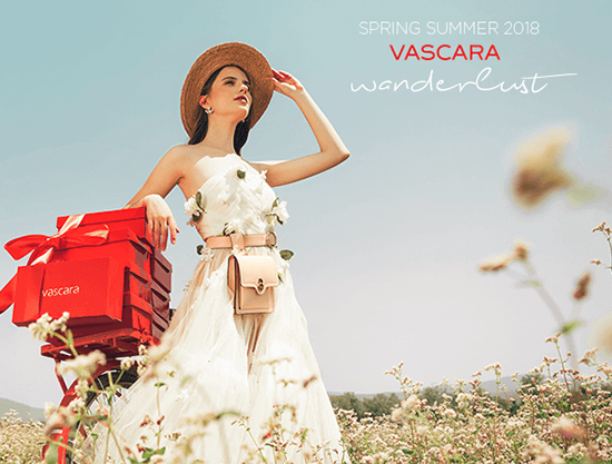 Vascara Wanderlust - cảm hứng tự do cùng BST Spring Summer 2018 - vascara.com