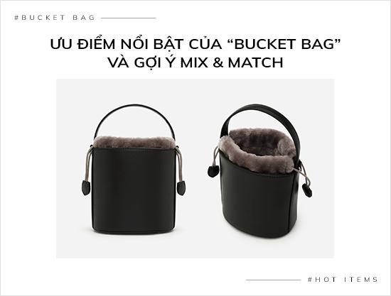 """Ưu điểm nổi bật của """"Bucket Bag"""" và gợi ý mix & match - vascara.com"""