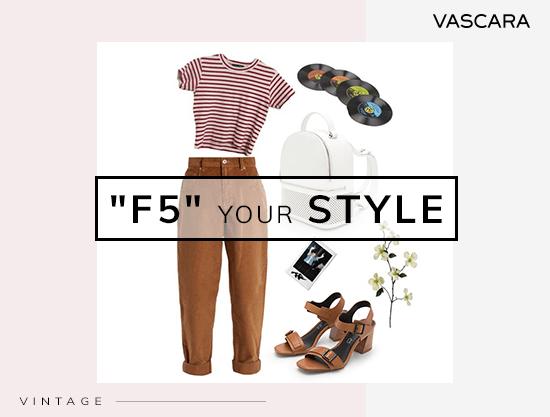 Cùng nhau 'F5' Streetstyle của mình với Vascara