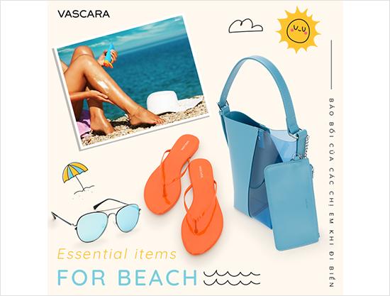Bảo bối của các chị em khi đi biển - vascara.com