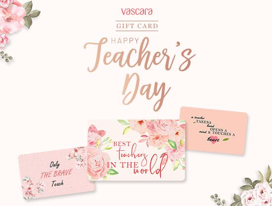 Tri ân Ngày Nhà Giáo Việt Nam, Gift Card – Món quà trao gửi yêu thương tinh tế - vascara.com
