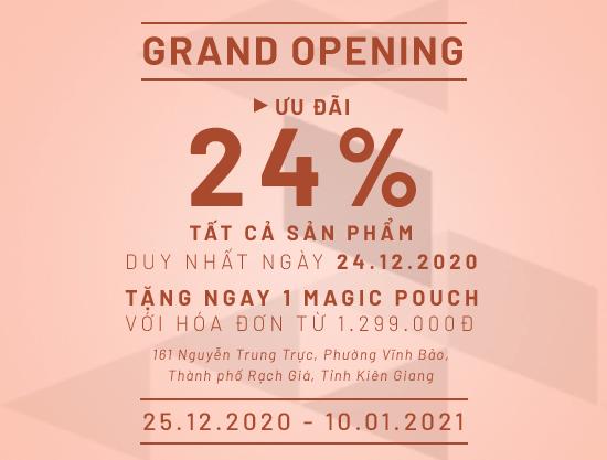 Grand Opening Vascara 161 Nguyễn Trung Trực - Thành phố Rạch Giá