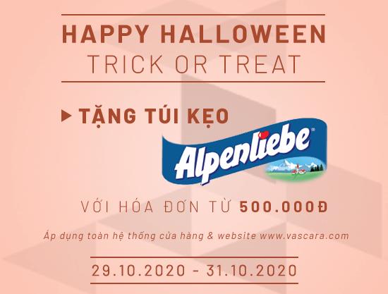 Happy Halloween – Nhận ngay túi kẹo ngọt ngào Alpenliebe