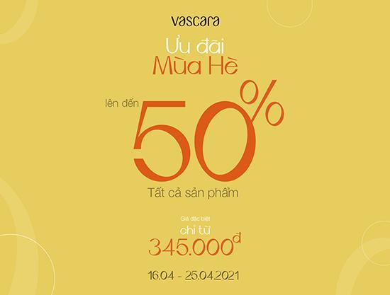 Hello Summer từ Vascara, rất nhiều sản phẩm mới được ưu đãi với giá hời