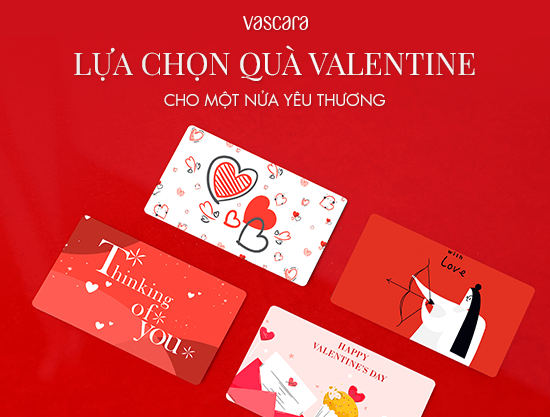 Lựa chọn quà ở đầu trong dịp Valentine năm nay cho nửa kia yêu thương