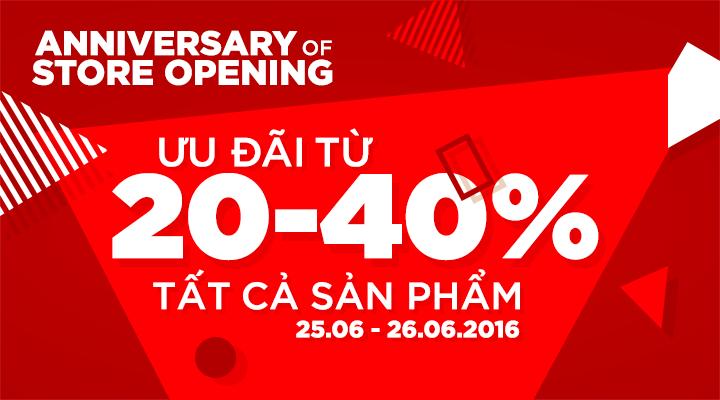 Vascara Royal City - Anniversary Of Store Opening - Ưu đãi từ 20 -40%