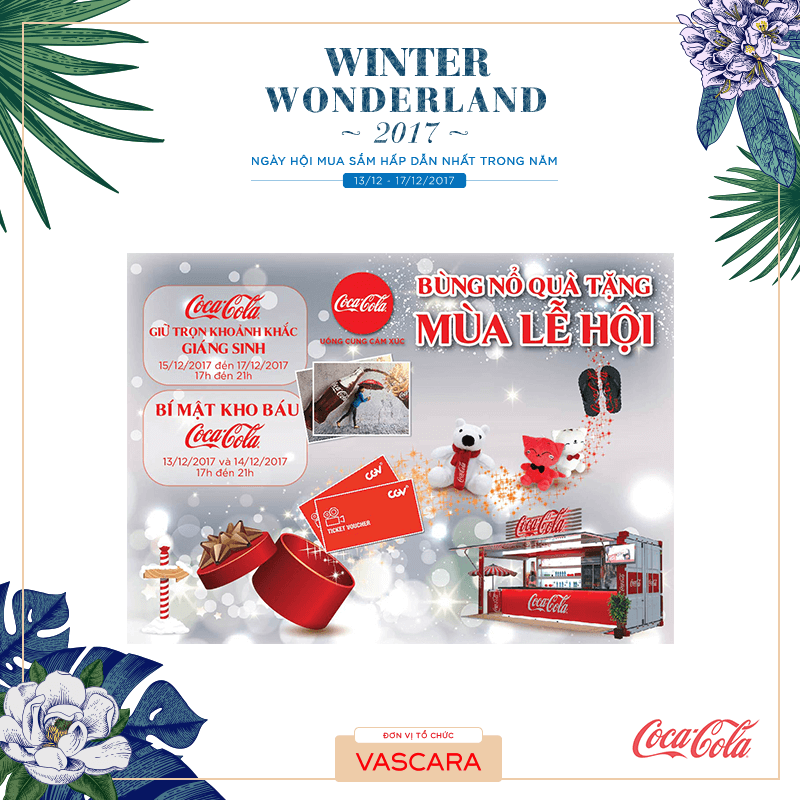 Coco-cola tại Winter Wonderland 2017