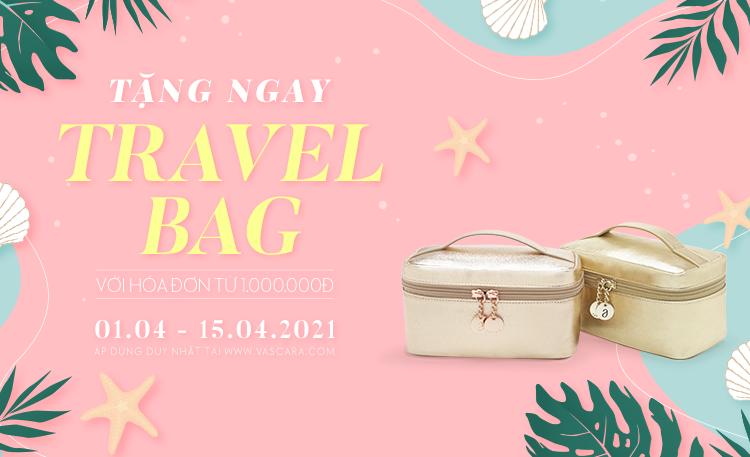 Tặng ngay Travel Bag với hóa đơn online từ 1.000.000đ