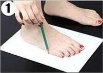 Hướng dẫn chọn size giày sandal nữ Vascara